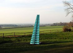 Stairs to Nowhere: 15 Works of Surreal Staircase Sculpture.    Glass stairway to the sky.