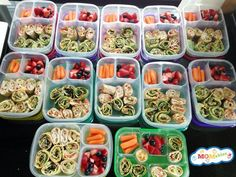 How to make and pack grain free wraps and regular wraps packed for lunch!