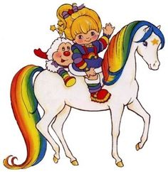 I LOVED Rainbow Bright!! This show was great and the doll matched my sheet set!!