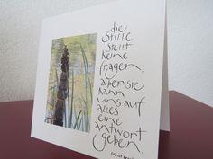 Kalligraphie und alles was sich beschriften lässt