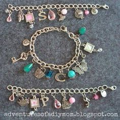 Adventures of a DIY Mom: How to Make Charm Bracelets