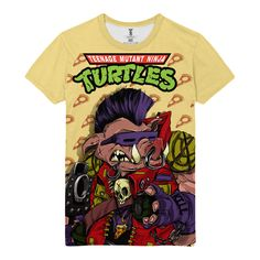 The unique T-shirt Turtles TMNT Bebop Ninja Comics Cartoons Arts  -  T-shirt Merch Bebop Apparels Buy You can get longsleeve or t-shirt, even tanks for boys and girls. Just picks the size of your favourite apparel and put the item to a basket.