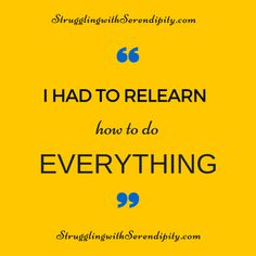 Long Struggles and Small Successes - Struggling with Serendipity
