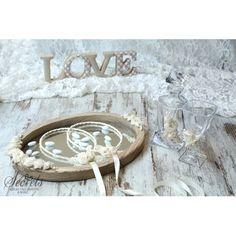 ξύλινος δίσκος και κρυστάλλινη καράφα και ποτήρι Tray, Vintage, Wedding, Home Decor, Valentines Day Weddings, Decoration Home, Hochzeit, Trays, Interior Design