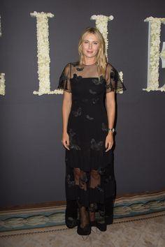 Maria Sharapova Celebrates ELLE U.S.'s 30th Anniversary And ELLE France's 70th Anniversary