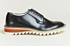 Hiroshi Tsubouchi S/S'12 Ripple Sole Derby Shoes
