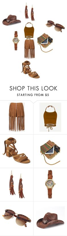 """inspired by 2 (westerns)"" by ilona-giladi on Polyvore featuring Sans Souci, Gap, Panacea, Vivani and Peter Grimm"