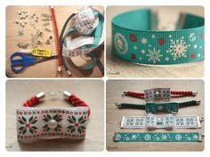 Świąteczne bransoletki