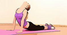 Estiramientos aliviarán tu dolor de espalda en 7 minutos Yoga Fitness, Health Fitness, Health Exercise, Natural Medicine, Back Pain, Pilates, Workout, Disney Princess, Disney Characters