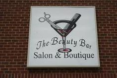 Perfect salon sign & name! This will be the name of my future salon <3