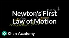 More on Newton's first law of motion Motion Physics, Classical Physics, Newtons Laws, Science