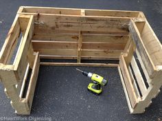 Image result for lemonade stand made from pallets