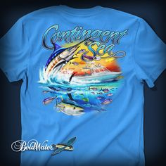 Contingent Sea fishing shirt design created by BoldWater.