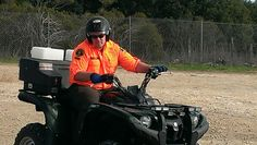 ATV certification Kris Koenig