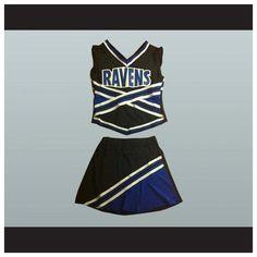 $80  One Tree Hill Ravens Cheerleader Uniform Stitch Sewn