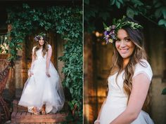 love this bride, love the dress, love the crown
