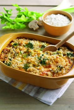 Few things are more comforting than a broccoli and rice casserole. Combine the flavors of Daisy Sour Cream and Cottage Cheese for a tasty side or dinner.