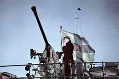 World War II in Color: Anti-Aircraft Gun