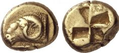 #Kyzikos 500-450 BC EL 1/6 Stater #Mysia #Erdek pic.twitter.com/NsZNvqWixM