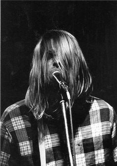 Kurt Cobain, 1990.
