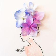 Çizimlerinde Sebzeleri ve Çiçekleri Kullanan Modacıdan 20 Olağanüstü İllüstrasyon Sanatlı Bi Blog 18