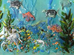 Fused Glass Mural (Pacific Coast) | Designer Glass Mosaics|Designer Glass Mosaics