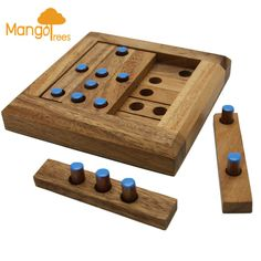5 to Match - Wooden 3D Logic Wood Brain Teaser Puzzle