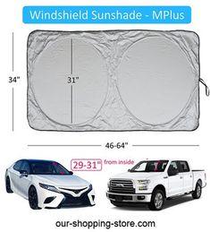 Furniture Decorate Animal Cat Dog Foldable Car Windshield Sunshade,Shade UV Protection Keep Vehicle Cool,Fits Windshields of Most Sizes