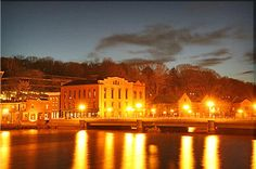 Westport at night