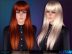 Heartbeat Hair by Alesso - Sims 3 Downloads CC Caboodle
