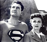 Superman--remember the old B&W show that started it all (after the comics came out)? Such a good show at the time, even if we might think it's a bit cheesy now, I loved it as a kid.