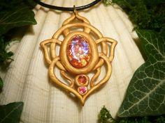 SunSparks Talisman - handmade Amulet by Ganjamira.deviantart.com on @DeviantArt