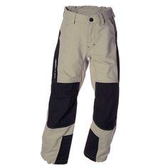 """Die Trapper Pant von Isbjörn of Sweden  Diese Kinder-Outdoor Hose ist aus Coprdura® ein äusserst robustes und abriebfestes Material. An den Beinenden gibt es """"versenkbare"""" Gummizüge zur Beinweitenregulierung. Die Taille lässt sich mit Klettverschluss-Laschen individuell einstellen. Eine Hose, mit der Kinder echt viel Spass haben können! #isbjorn #alpenkind"""