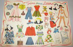 Påklædningsdukker - www.lonas-nostalgi.dk