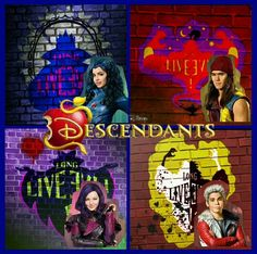 By the way Evil can turn into gold and gold means goodness loyalty and more fun wait until you see the sequel of descendants 2