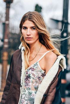 January 26, 2016 Tags Paris, Shearling, Sheer, Veronika Heilbrunner, Women, Florals, Necklaces, Lace, Alexander McQueen