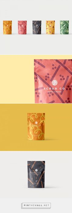 The Coffee Scrub Line Where Every Flavor is Your Favorite — The Dieline