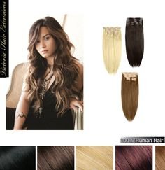 Longer hair in minutes using natural hair extensions Discover #victoriahairextensions and get a desired look www.victoriahairandbeauty.com