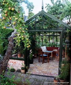 I am not alone in dreaming of a greenhouse and certainly it is a lovely dream. The best part of all is that even if it is a dream, it is … - All For Garden Backyard Greenhouse, Backyard Landscaping, Greenhouse Ideas, Cheap Greenhouse, Greenhouse Frame, Orangerie Extension, Greenhouse Interiors, Garden Structures, Garden Spaces
