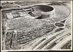 The Stadium - Shea Stadium Baseball Park, Baseball Pitching, Sports Baseball, Mets Baseball, Basketball, Shea Stadium, Yankee Stadium, Baseball Field Dimensions, How Soon Is Now