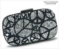 Peace on Earth clutch
