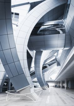 Architecture Hall Dubai Terminal 3 by Alisdair Miller, via Gothic Architecture, Beautiful Architecture, Interior Architecture, Commercial Architecture, Futuristic Architecture, Dubai Airport, Urban Photography, The Incredibles, Pictures