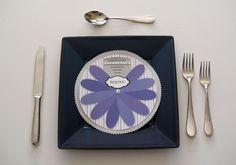 DIY menu pinwheel