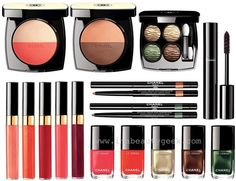 chanel makeup summer 2016 - Why must I have such expensive taste lol this collection is gorgeous