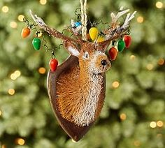 Christmas Ornaments, Ornaments & Christmas Tree Toppers   Pottery Barn
