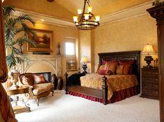 Wesley-Wayne Interiors Bedrooms - mediterranean - bedroom - dallas - Wesley-Wayne Interiors, LLC