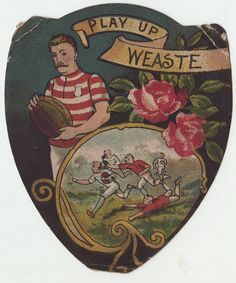 Sharpe (not Baines) card Weaste by Frederic Humbert (www.rugby-pioneers.com), via Flickr