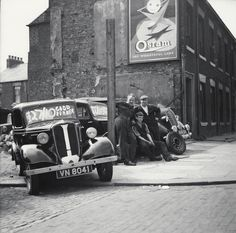 Used car site, Water Street; Maurice Wilson and men, 1957 - Scotswood Road - Photography - Amber Online
