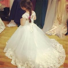 Cheap communion dresses, Buy Quality first communion dresses directly from China communion dresses for girls Suppliers: 2017 First Communion Dresses for Girls Appliques Flower Girl Dresses for Weddings Girls Pageant Dresses Baby Dresses for Girls Girls First Communion Dresses, Girls Pageant Dresses, Little Girl Dresses, Baby Dresses, Wedding Flower Girl Dresses, Wedding Party Dresses, Flower Girls, Birthday Girl Dress, Birthday Dresses