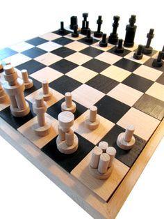 schachbrett selber bauen schach m hle und bauanleitung. Black Bedroom Furniture Sets. Home Design Ideas